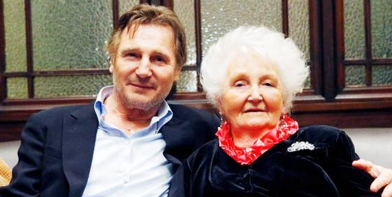 Katherine Brown Neeson mother Liam Neeson