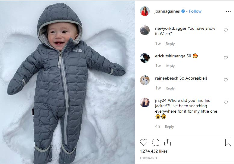 Crew Gaines son Joanna Gaines and Chip Gaines