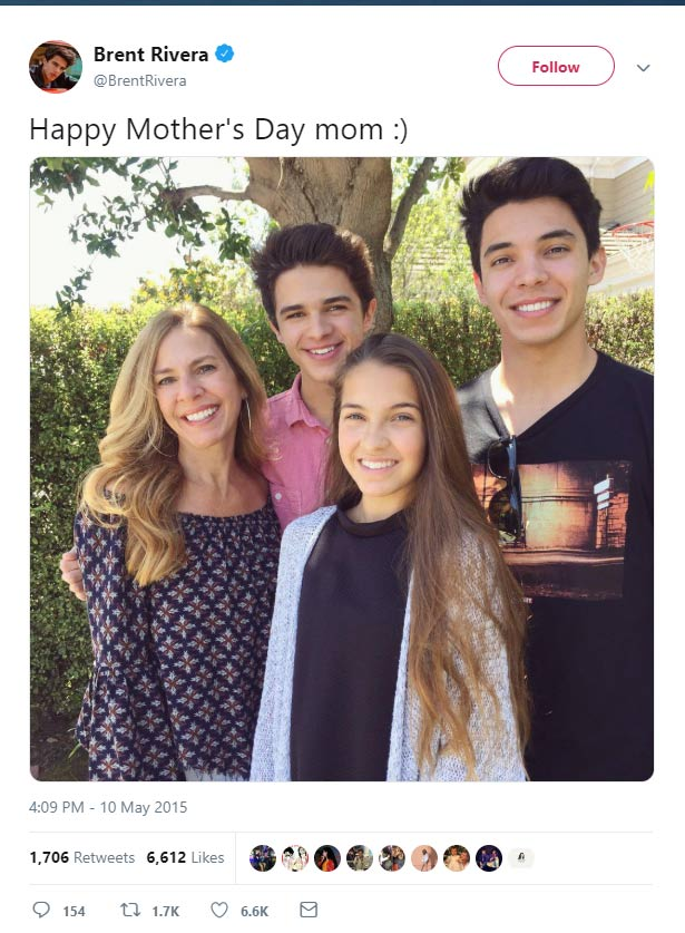 Brent Rivera Family In Detail Mother Father Siblings Familytron