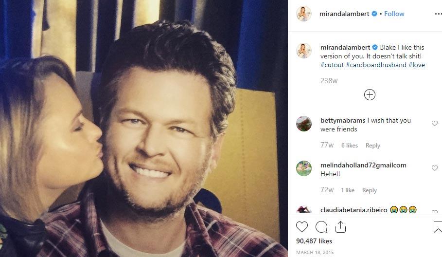 Miranda Lambert ex huband