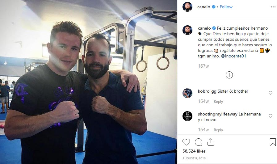 Ramon Alvarez brother Canelo Alvarez