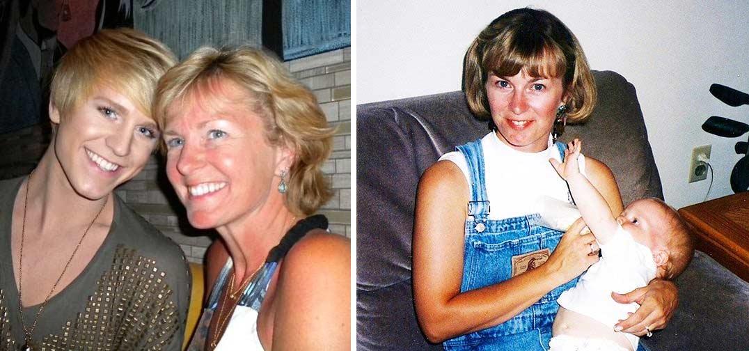Judith Lazzarato mother Gigi Gorgeous