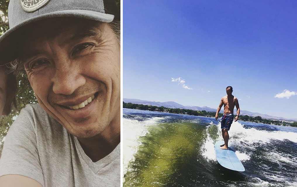 Andrew Tinpo Lee father Peyton Lee