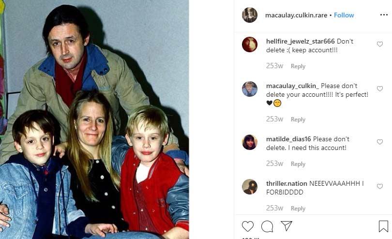 Kit Culkin father Macaulay Culkin