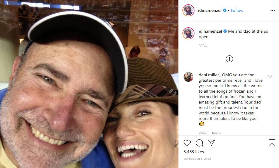 Stuart Mentzel father Idina Menzel