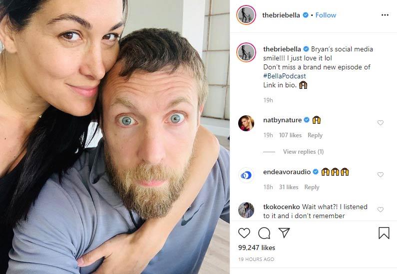 Bryan Danielson husband Brie Bella