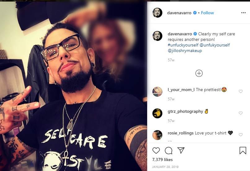 Dave Navarro ex husband Carmen Electra