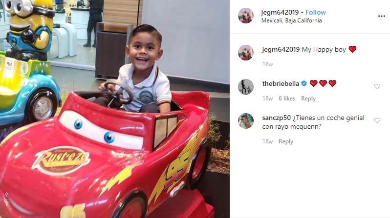 Ezequiel Garcia younger half-brother Nikki Bella