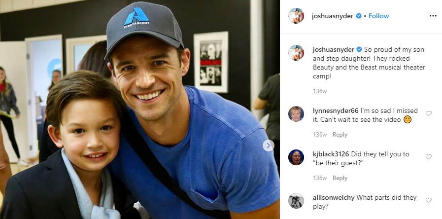 Jake Snyder son Joshua Snyder