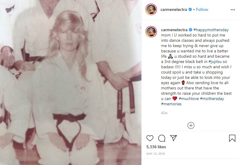 Patricia Patrick mother Carmen Electra