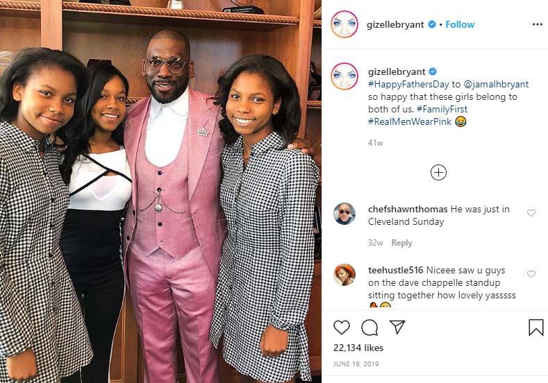 Jamal Bryant ex-husband Gizelle Bryant