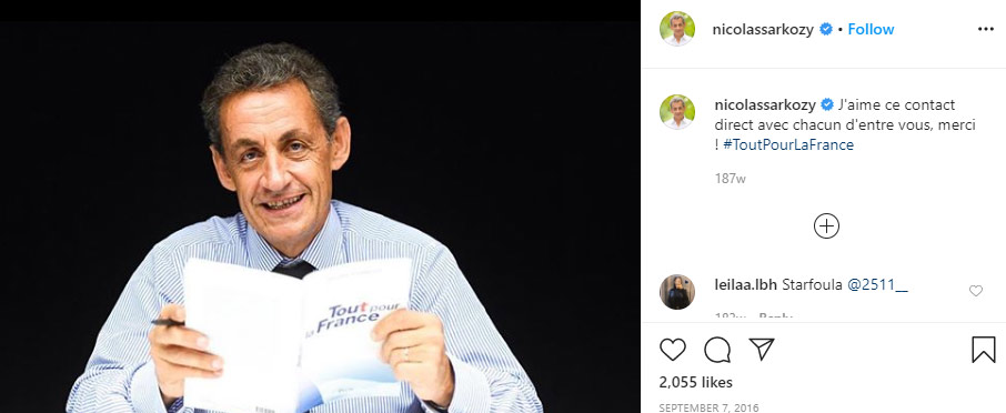 Nicolas Sarkozy husband Carla Bruni