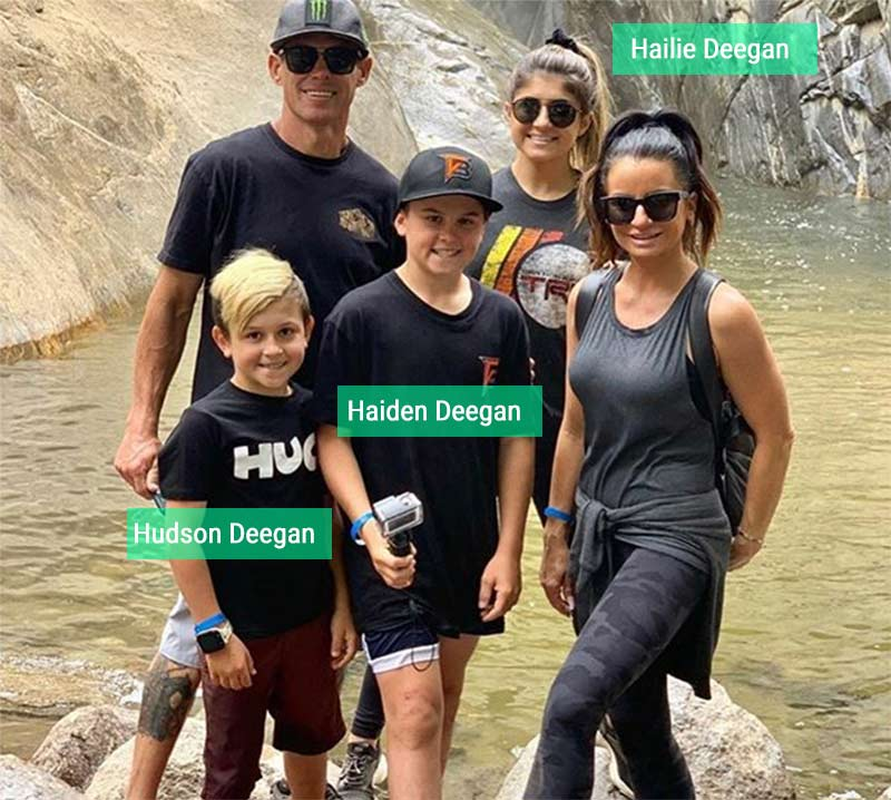 Brian Deegan children