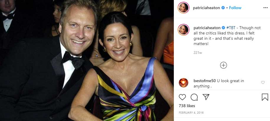 David Hunt husband Patricia Heaton