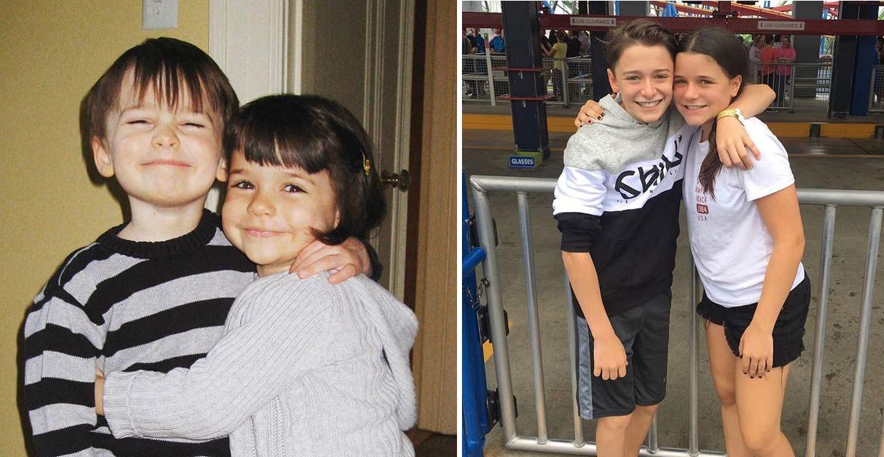 Chloe Schnapp twin sister Noah Schnapp