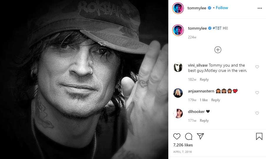 Tommy Lee ex huband Pamela Anderson