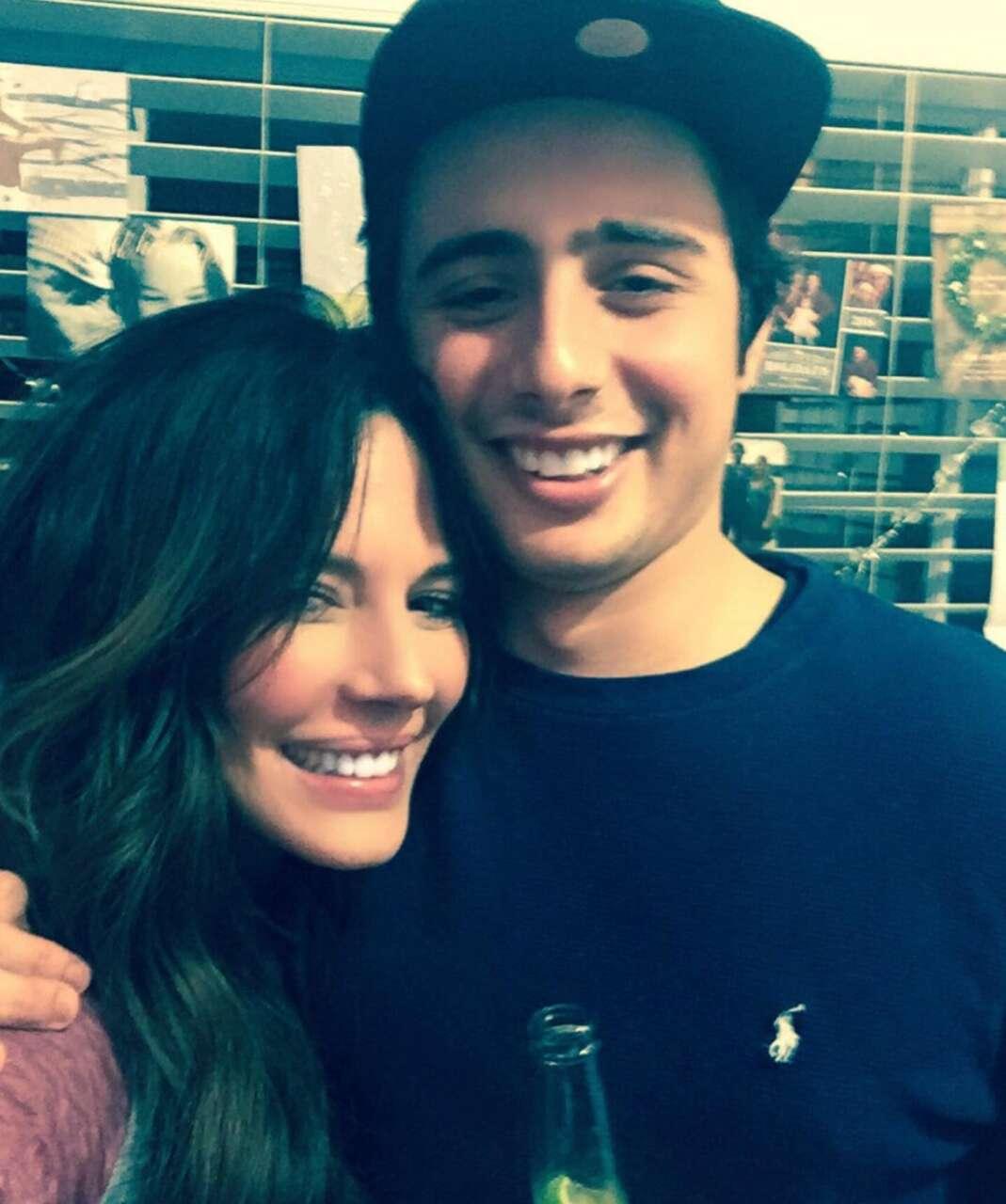 Jake Moritt son Krista Allen