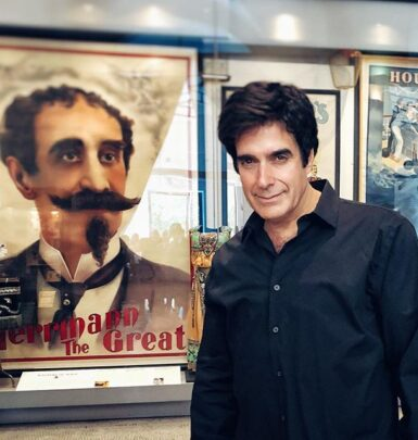David Copperfield biography