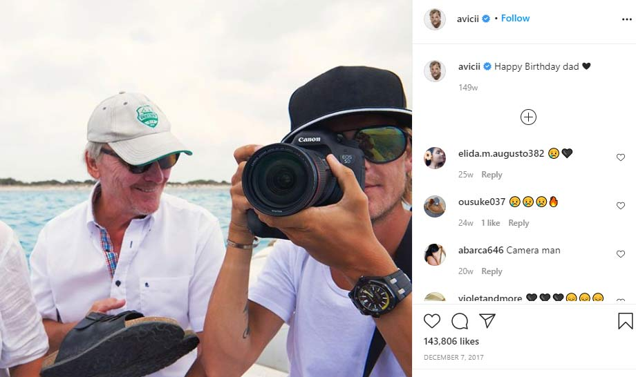 Klas Bergling father Avicii