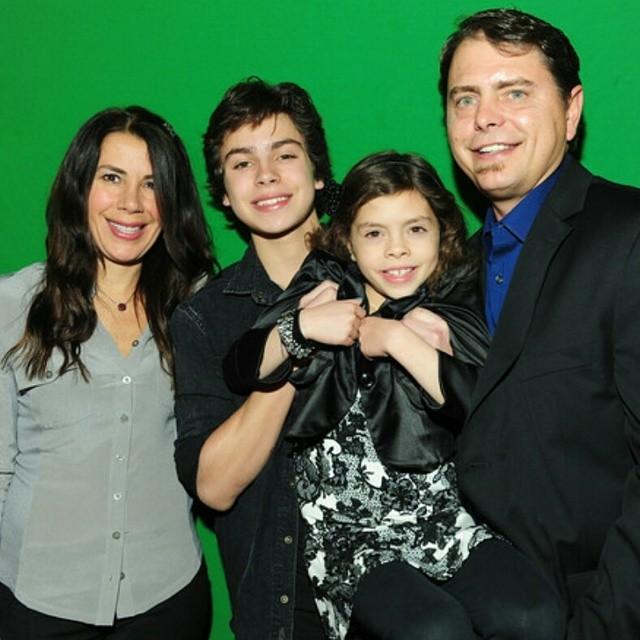 Giny Rodriquez Toranzo mother Jake T. Austin
